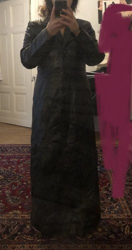 Mantel aus Echtleder