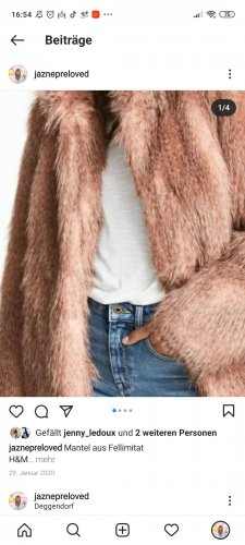 HM Pelt Jacket rose-gold-coloured