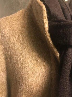 MANTEL AUS Lama Wolle  VINTAGE LUXUS GR: 34/36