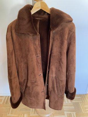 Mantel aus Lammfell von Lekra, Gr. 40