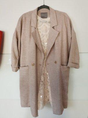 Vero Moda Płaszcz oversize różany
