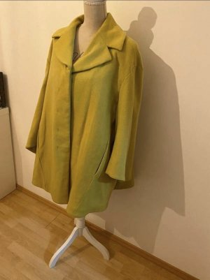 H&M Wool Coat lime yellow