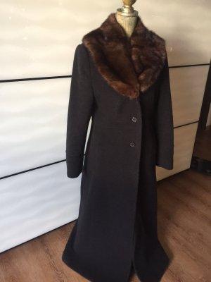 Jessica Cappotto invernale nero-marrone