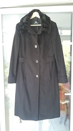 Winter Coat black cashmere