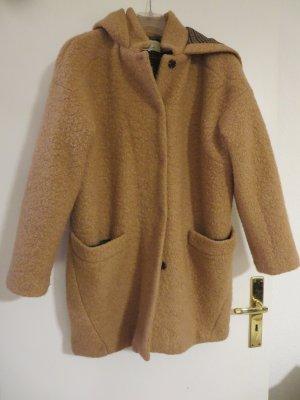 Mantel beige Casual Größe L Kuscheloptik