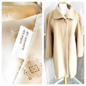 Hensel & Mortensen Oversized jas licht beige