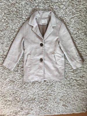 Zara Kids Cappotto corto beige chiaro