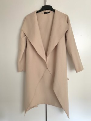 Boohoo Winter Coat beige