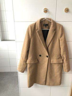 Zara Abrigo ancho beige