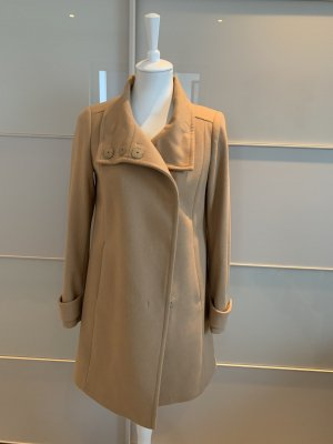 United Colors of Benetton Heavy Pea Coat beige-camel