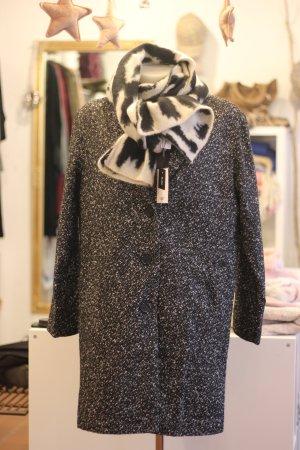 Aniston Manteau court noir-blanc