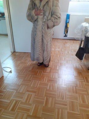 Mantel Blau Fuks