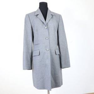 Bianca Chaqueta de lana gris-gris oscuro lana de esquila