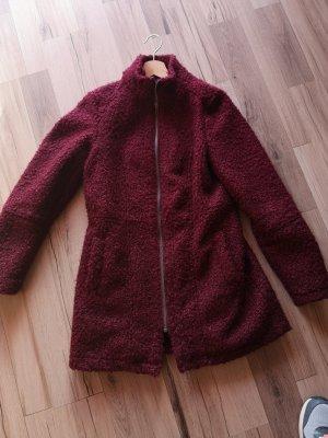 Mantel bordeaux rot Herbst/Winter