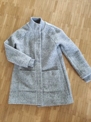 Broadway Winter Coat silver-colored polyester