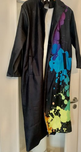 Płaszcz oversize Wielokolorowy