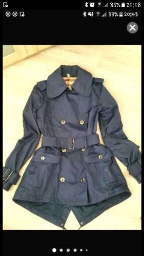 Burberry London Trench Coat dark blue