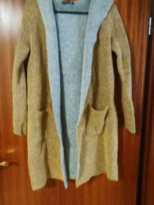 Blind Date Manteau long gris-brun sable