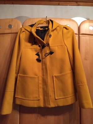 H&M Manteau à capuche jaune