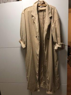 Manteau polaire beige