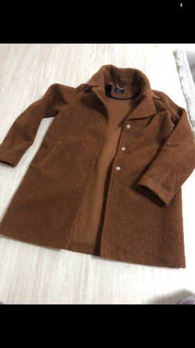 Lidl Cappotto in pile marrone