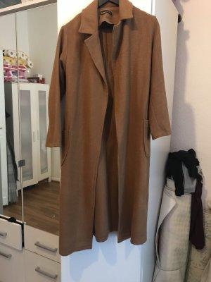 sefamerve Heavy Pea Coat bronze-colored-brown