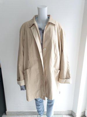 Mantel Canda 46 Beige schlangenmuster trenchcoat Jacke Pullover Pulli Cardigan Strickjacke blazer hemd bluse