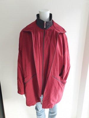 Mantel Canda 46 rot trenchcoat Jacke Pullover Pulli Cardigan Strickjacke blazer hemd bluse parka weste