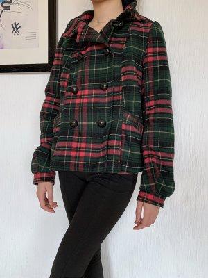 H&M Divided Heavy Pea Coat multicolored