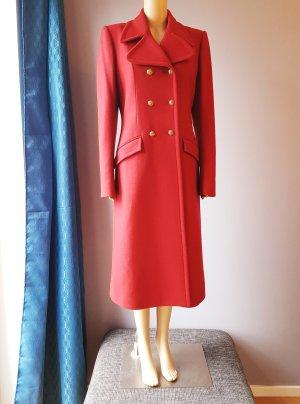Just cavalli Abrigo de lana rojo ladrillo