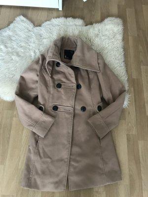 Mantel Coat Beige