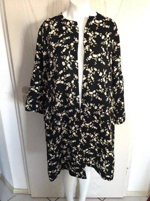 Mantel Coat Oberteil tolles Muster Blickdicht von H&M in L