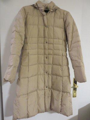 Mantel Daunen beige DE 40
