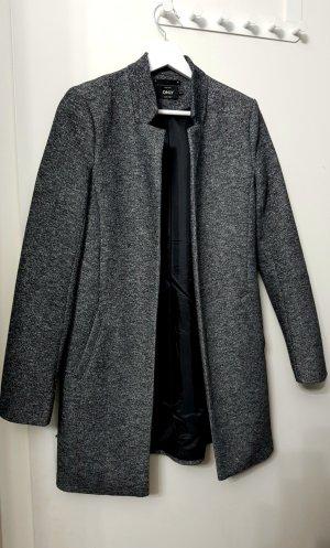 Only Gabardina tipo vestido negro-gris oscuro