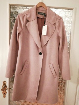 Coercion Robe manteau rose