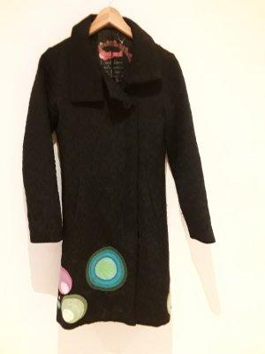 Desigual Cappotto in lana nero
