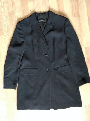 Dinomoda Abrigo de lana negro Lana