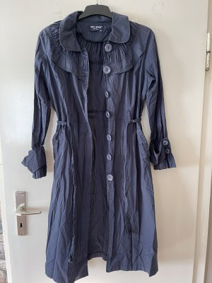 Heavy Pea Coat dark blue