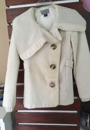Mantel Dufflecoat von Mango in weiß Größe S