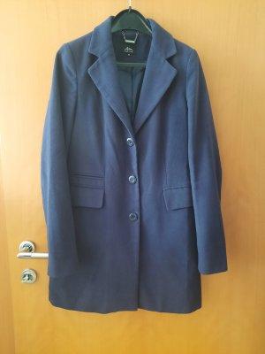 Ann Christine Wollen jas donkerblauw