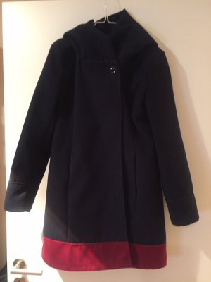 Mantel dunkelblau Größe 36