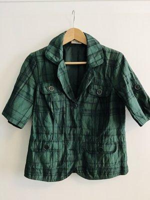 Bonita Blazer corto nero-verde bosco