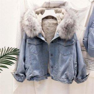 .Tessa Robe manteau bleu pâle