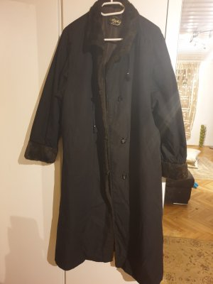 Jolipel by Niedieck Gabardina tipo vestido negro
