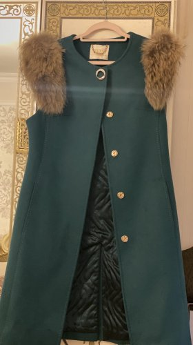 Velvet Cappotto mezza stagione verde bosco