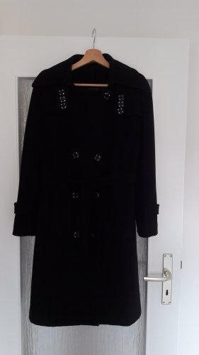 Manteau d'hiver noir
