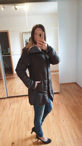 OPD overcoats project & design Płaszcz puchowy ciemnobrązowy