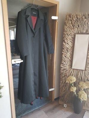 your Sixth sense  c&a Manteau long noir-rouge carmin