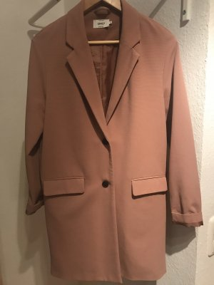 Only Trenchcoat vieux rose-rosé