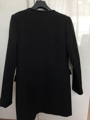 H&M Cappotto in pile nero